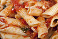 Penne With Tomato Sauce Royalty Free Stock Photo - 16922345