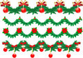 Christmas Garlands Royalty Free Stock Photography - 16949057