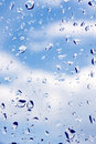 Water Drops On Windows Glass Stock Images - 16966104