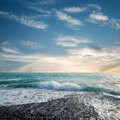 Beach And Turquoise Sea Water Royalty Free Stock Photo - 16986235
