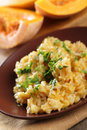 Pumpkin Risotto Stock Images - 16996724