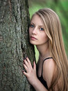 Woman In Forest Stock Photos - 16996793