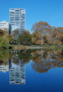 Reflexions In Central Park Stock Image - 16999321