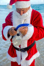 Santa Claus On Vacation Royalty Free Stock Images - 17008939