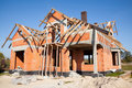 New House Under Construction Royalty Free Stock Image - 17019526