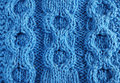 Close-up Of Knitted Cloth With Raised Tracery Stock Images - 17035214