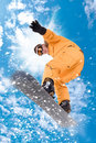 Snowboarder Royalty Free Stock Photo - 17061225