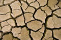 Cracks In The Parched Earth Royalty Free Stock Photo - 17061855