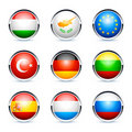 International Flags Icons Stock Images - 17085854