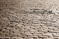 Old Cobblestone Road Royalty Free Stock Image - 1710736