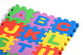 Alphabet Puzzle Pieces Stock Images - 17103754