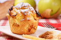 Apple Muffin Royalty Free Stock Photo - 17125185