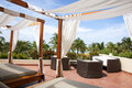 Two Cabanas In The Tropics Stock Photo - 17129690