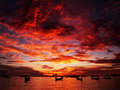 Magical Sunset Royalty Free Stock Image - 17143966