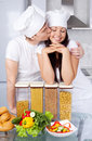 Two Cooks Stock Photo - 17151780