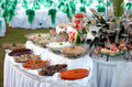 Buffet Table With Seafood Royalty Free Stock Photo - 17171335