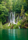 Beautiful Forest Waterfall Royalty Free Stock Image - 17178036