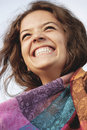 Happy Girl Laughing Royalty Free Stock Photo - 17181925