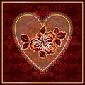 Heart Lace Royalty Free Stock Image - 17187916