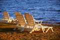 Beach Chairs Royalty Free Stock Image - 1721706