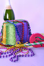 New Years Eve 2011 Party Still Life Royalty Free Stock Photography - 17210097