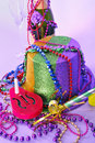 New Years Eve 2011 Party Still Life Royalty Free Stock Photography - 17210107