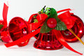 Red Christmas Bells Stock Images - 17216514