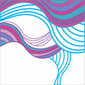 Abstract Background With Multicolored Waves Stock Photo - 17222370