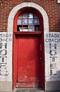 Stage Coach Hotel Stock Image - 17226221