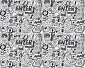 Seamless Web Pattern Royalty Free Stock Images - 17260409