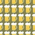 Seamless Background With Beer  Stock Photos - 17260633