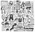 Cute Doodle Web Royalty Free Stock Image - 17261526