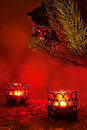 Red Christmas Decoration Royalty Free Stock Photography - 17262237