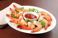 Shrimp Appetizer Royalty Free Stock Image - 17289566
