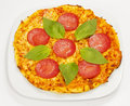 Pepperoni Pizza Stock Photography - 17292302