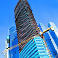Construction Of Multistory Building Stock Image - 17303531