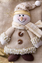 Christmas Snowman Royalty Free Stock Image - 17324956
