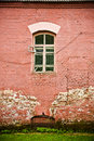 Old Wall With Window Royalty Free Stock Image - 17359486