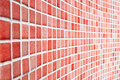 Red Tile Pattern Royalty Free Stock Photos - 17367358