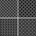 Seamless Checked Designs Set. Stock Images - 17368604