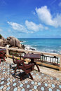 Terrace With Beautiful Sea View Stock Photography - 17372122