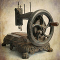 Antique Sewing Machine Royalty Free Stock Photography - 17373417