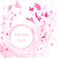 Pink Flower. Floral Background. Stock Photos - 17373923