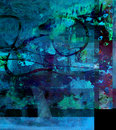 Abstract On Glass Royalty Free Stock Image - 17389166