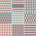 Seamless Patterns Collection Stock Images - 17399334