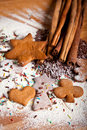 Traditional Home Baked Ginger Cookies Stock Image - 17410521