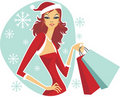 Christmas Shopping Stock Images - 17437964