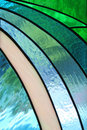 Stained Glass Window In The Church Royalty Free Stock Photography - 17458657