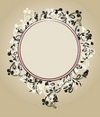Beautiful Floral Ornate Frame Royalty Free Stock Photos - 17459108