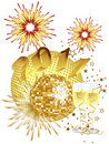 New Years Eve - 2011 Royalty Free Stock Photography - 17490927